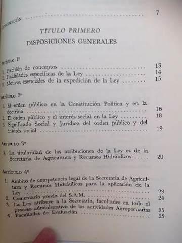 PNA y Ley de Fomento Agropecuario