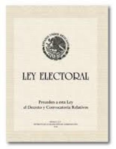 legislación electoral de las entidades federativas