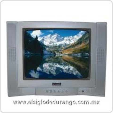 Televisión a color,21``