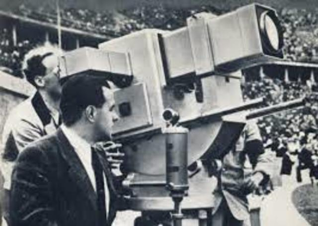 PRIMERA TRANSMISIÓN DE TV EN DIRECTO