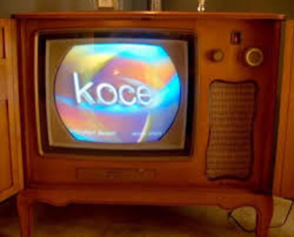 PRIMERA TV A COLOR