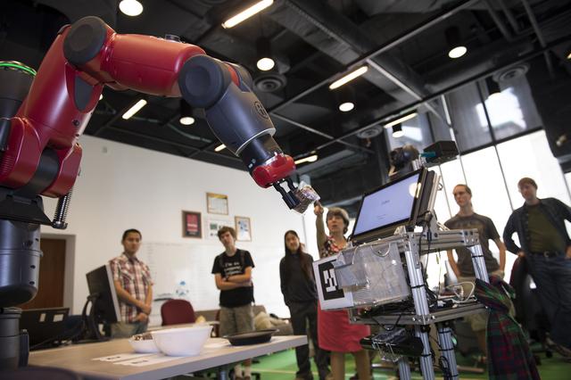 Robot de impulsion directa
