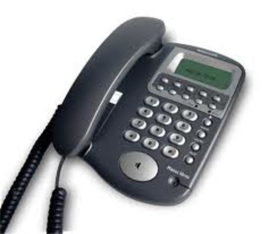 Teléfono por cable
