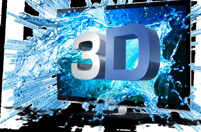 """""""LA PRIMER TV EN 3D"""""""