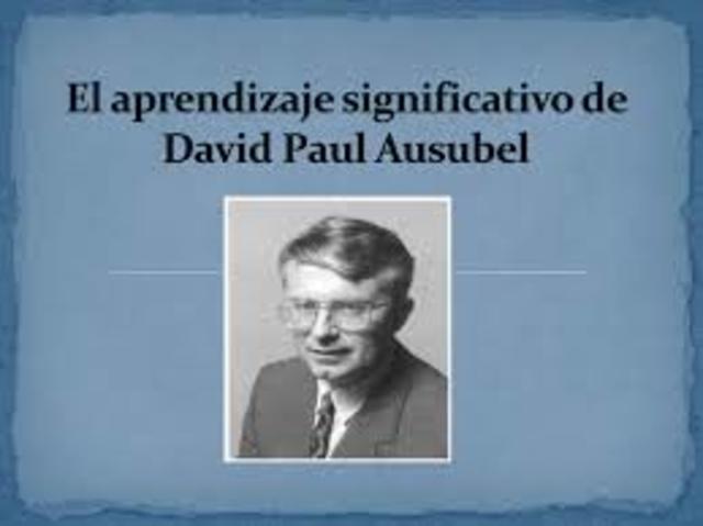 DAVID PAUL AUSBEL