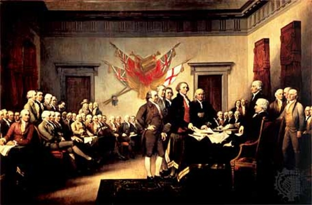 The first continental congress was held.