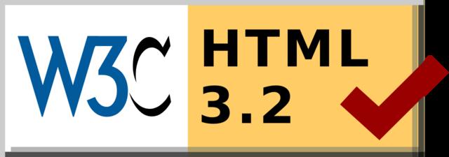 La versión HTML 3.2