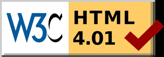 Especificación  a HTML 4.01.