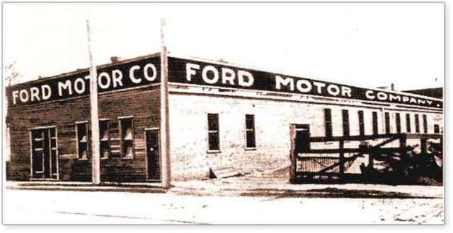 Ford motor company established