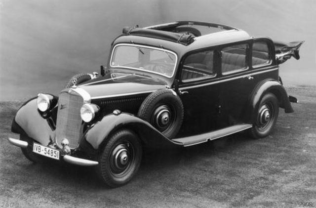 First diesel passenger car introduced