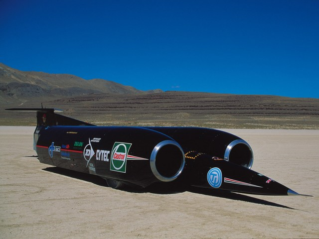 Land speed record broken once more