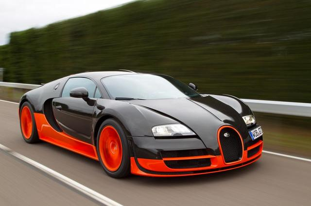 The Bugatti Veyron 16.4 becomes the fastest commercial production car