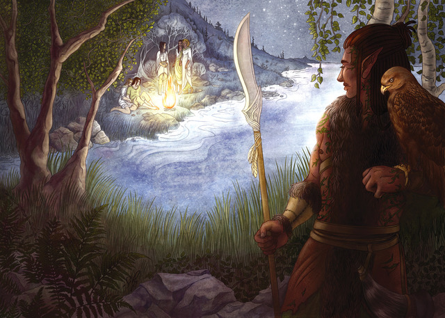 Scoperta degli Elfi da parte dei Valar