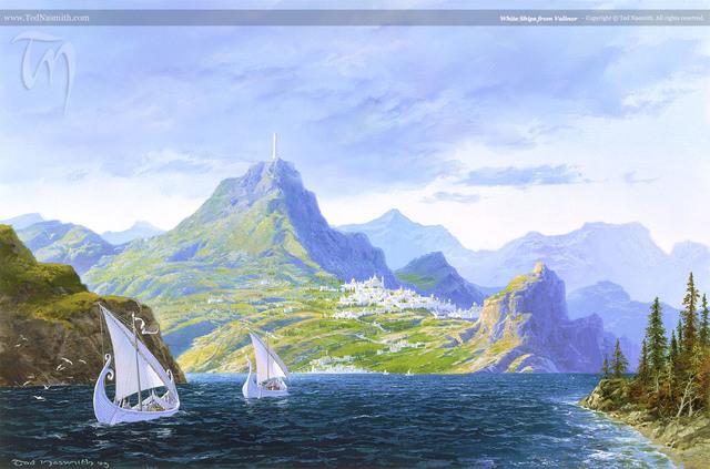 Arrivo in Aman di Vanyar e Noldor
