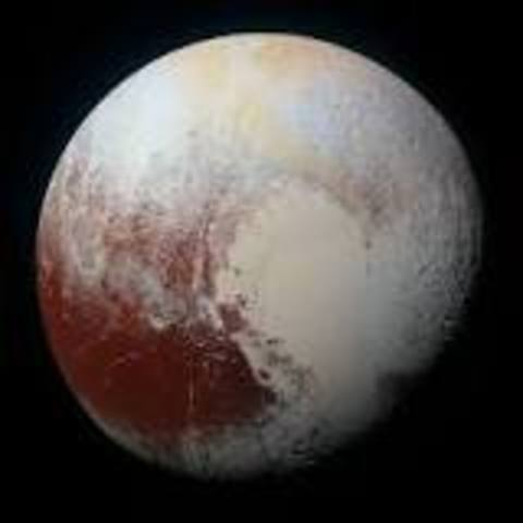 Pluto is discovered
