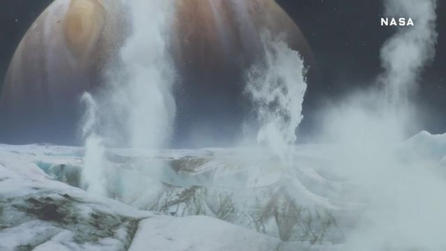Evidence of an ocean is discovered on Jupiter's moon Europa