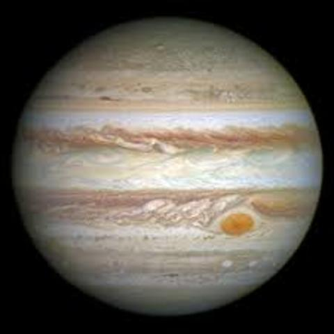 Jupiter is discovered by Galileo