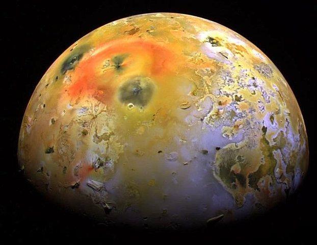 Jupiter's moon Io discovered by Galileo