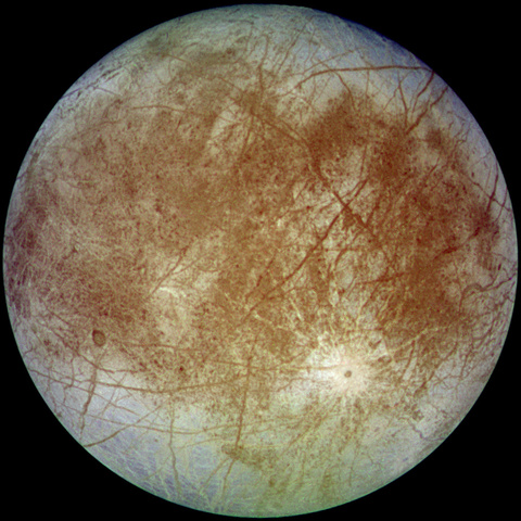 Europa discovered by Galileo