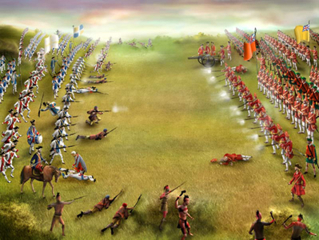 The Conquest (Battle on the Plains of Abraham)