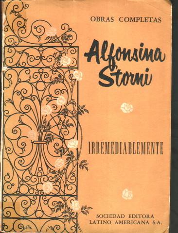 Irremediablemente de Alfonsina Stormi