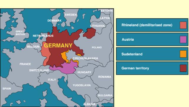 Hitler invade Rhineland