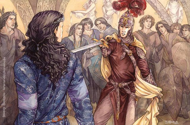 Esilio di Fëanor