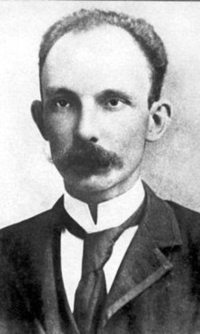 José Martí, nació en la habana el 28 de nero de 1853, fué político, pensador, escritor, filósofo y poeta cubano.
