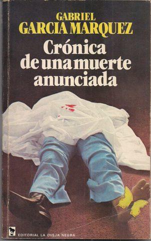 Crónica de una muerte anunciada de G.G Márquez