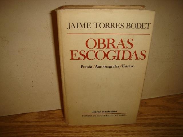 Fervor de Jaime Torres Bodet