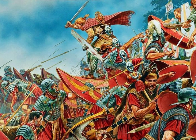 Завоевание Галлии Юлием Цезарем