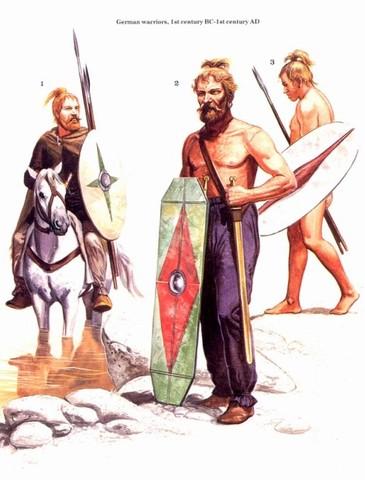 Вторжение в Галлию германских племен