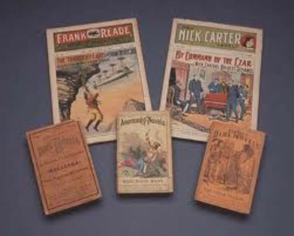 Harland F. Halsey's Dime Novels