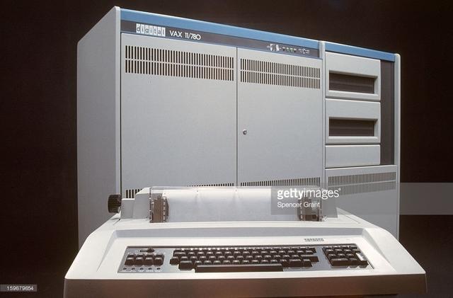 La VAX 11/780, de la Digital Equipment Corporation