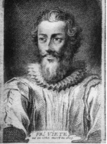 Francisco  vieta (1540-1603)