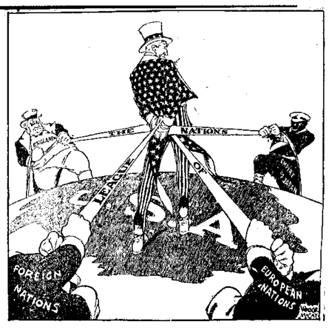 Italy and the League Of Nations, no more
