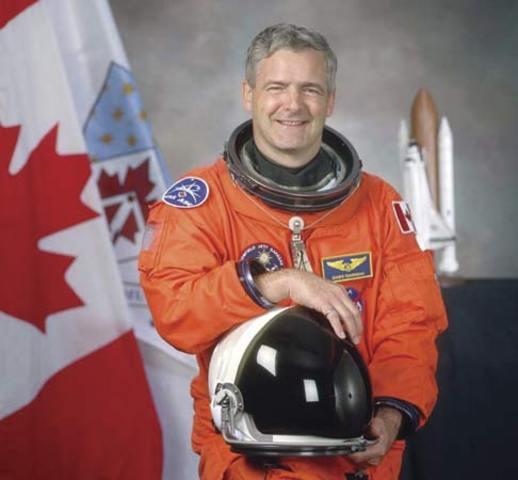 First Canadian into Space-Marc Garneau