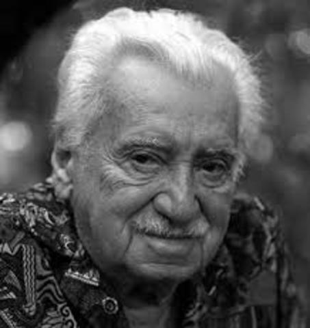 Jorge Amado. Nació el 10 de agosto de 1912 en Bahía, Brasil, y falleció el 6 de agosto de 2001 en el mismo. Fue escritor.