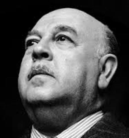 Alfonso Reyes. Nació en Monterrey el 17 de mayo de 1889 y falleció el 27 de diciembre de 1959 en México. Fue escritor , poeta, abogado y diplomático.