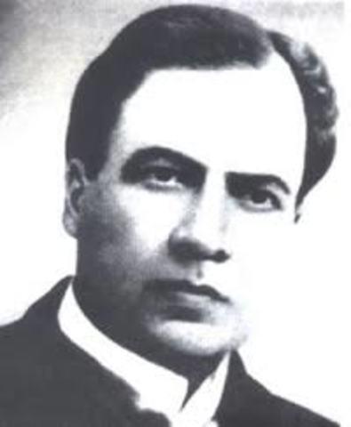 Ruben Dario, nacio el 18 de enero de 1867 en Nicaragua, y falleció el 6 de febrero de 1916 en el mismo país. Fue poeta, periodista y diplomático.
