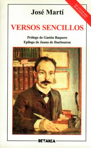Versos sencillos de José Martí