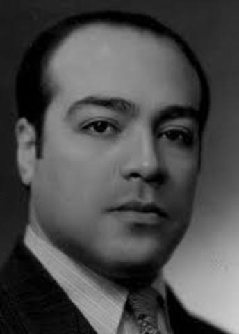 Jorge Carrera Andrade, nació el 18 de septiembre de 1903 en Ecuador, y falleció el 7 de noviembre de 1978 en el mismo país. Fue escritor, poeta, y diplomático.