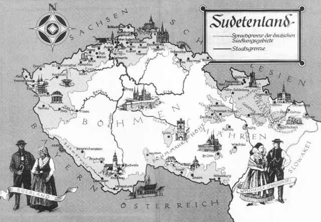 Sudetenland invaded