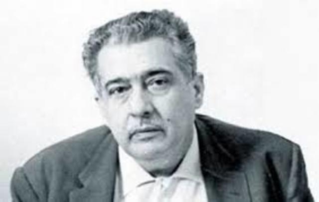 Jose Lezama Lima, nació el 19 de diciembre de 1910 en Cuba, falleció el 9 de agosto de 1976. Fue abogado, y escritor.