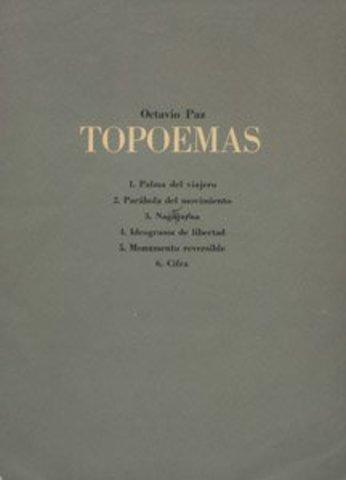 Topoemas de Octavio Paz