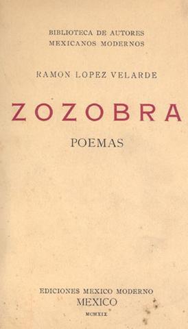 Zozobra de Ramón López Velarde