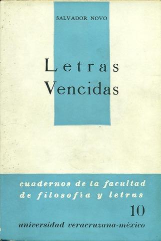 Letras vencidas de Salvador Novo