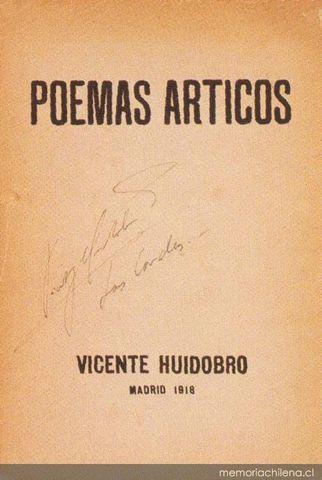 Poemas árticos de Vicente Huidobro