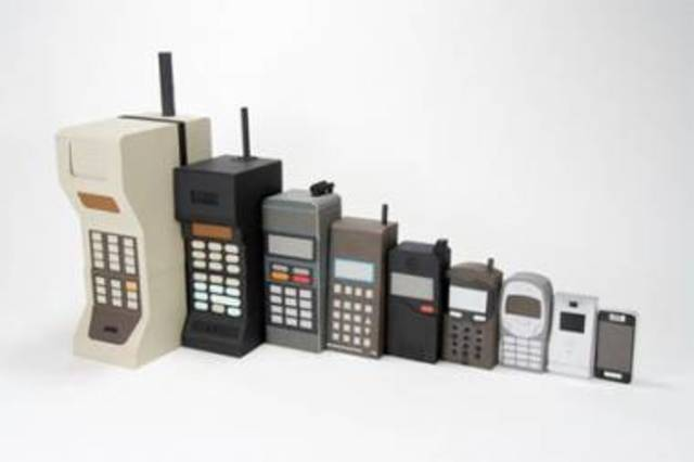 Martin Cooper invented the first phone.