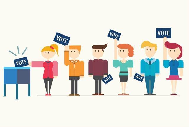 El derecho a VOTAR